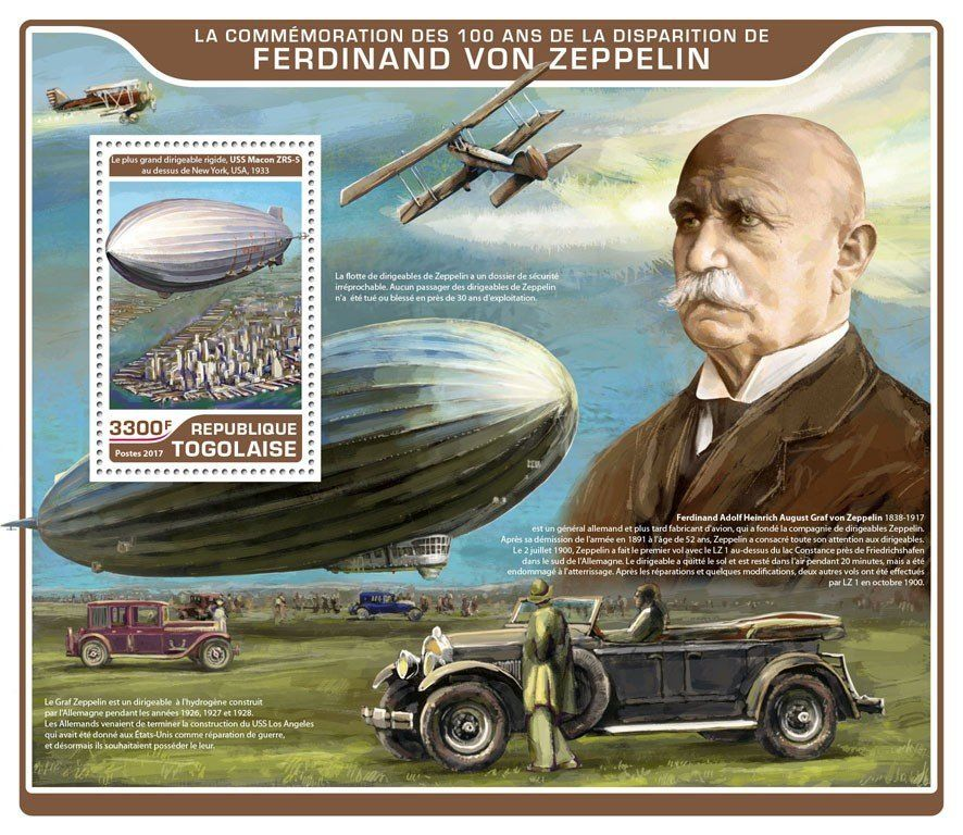 a biography of ferdinand von zeppelin an airship inventor Ferdinand von zeppelin : biography 08 july 1838 - 08 march 1917 in 1865 zeppelin was appointed adjutant of the king of württemberg and as general staff officer.